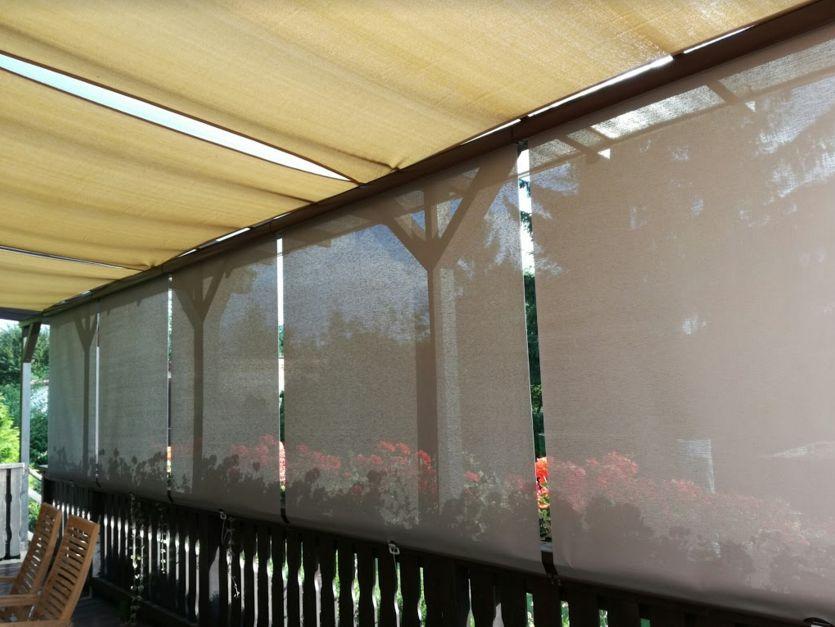 Venkovní screenové rolety SunStop