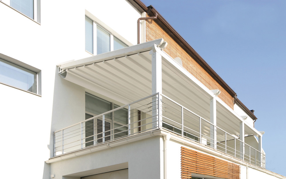 Balkonová markýza proti dešti - Mediterána