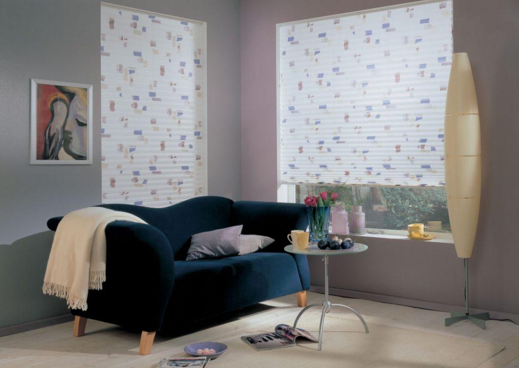 Plisé rolety barevně sladíte s interiérem