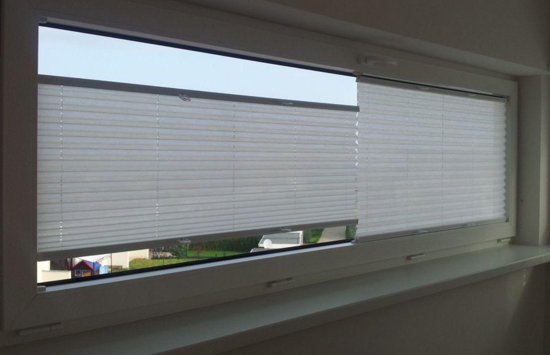 Plisé rolety jsou vhodné i na široká okna