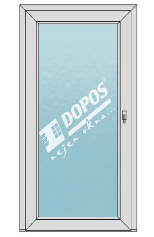 Vchodové dveře model 01