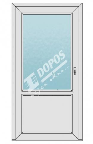 Vchodové dveře model 02
