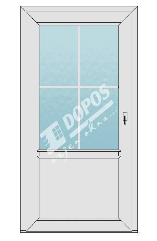 Vchodové dveře model 03