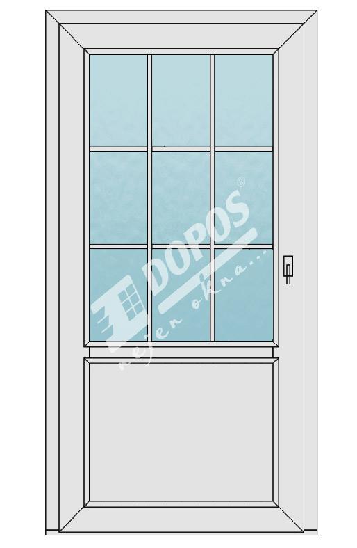Vchodové dveře model 05