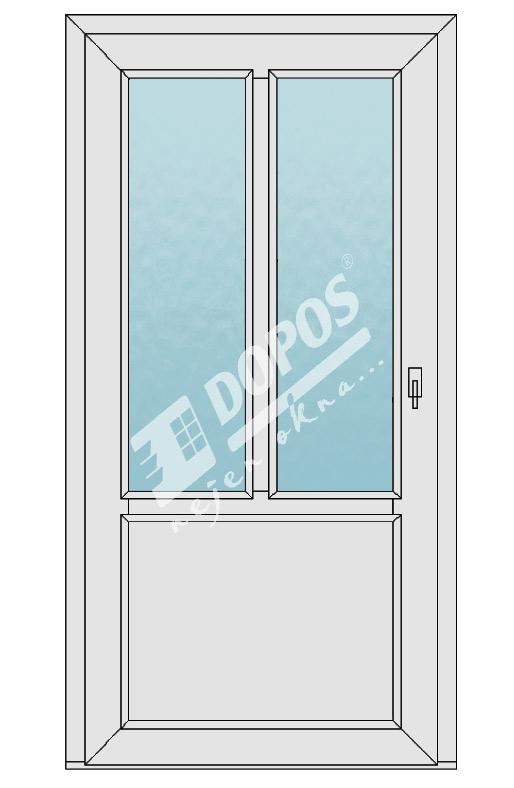 Vchodové dveře model 06