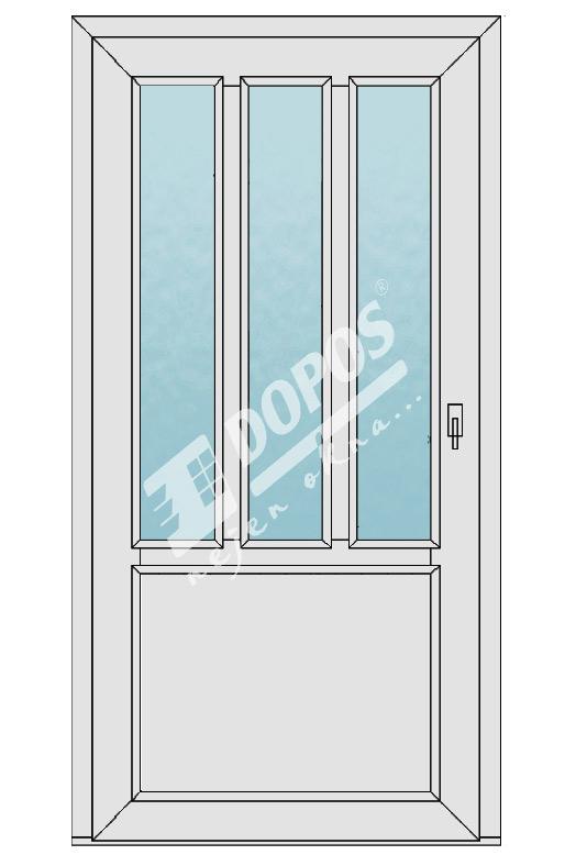 Vchodové dveře model 08