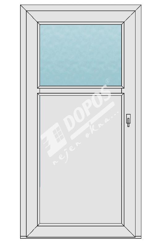 Vchodové dveře model 09