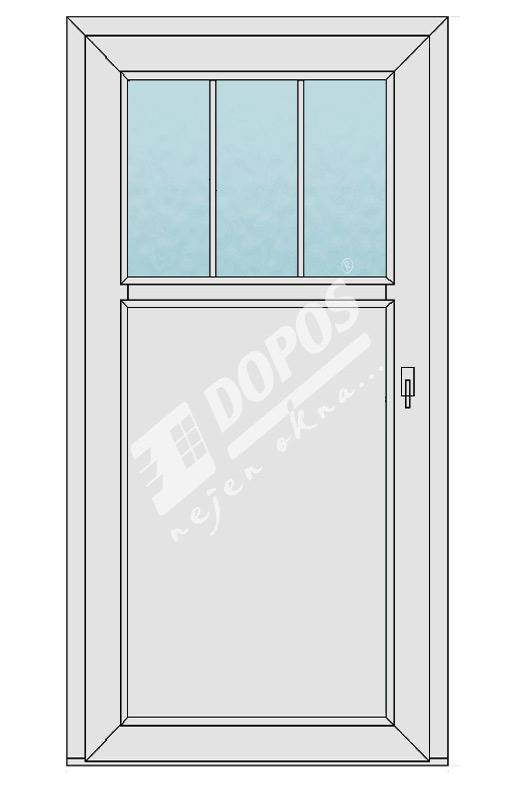 Vchodové dveře model 10