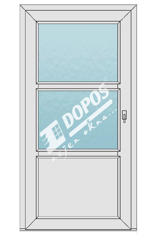 Vchodové dveře model 12