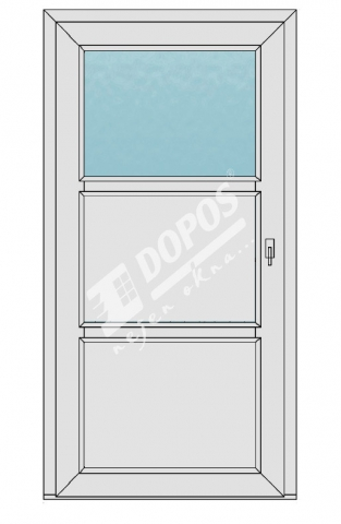 Vchodové dveře model 13