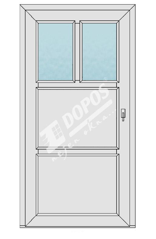 Vchodové dveře model 14