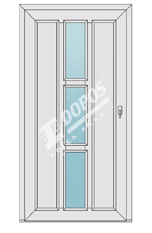 Vchodové dveře model 17