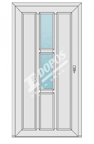 Vchodové dveře model 18