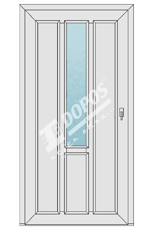 Vchodové dveře model 19