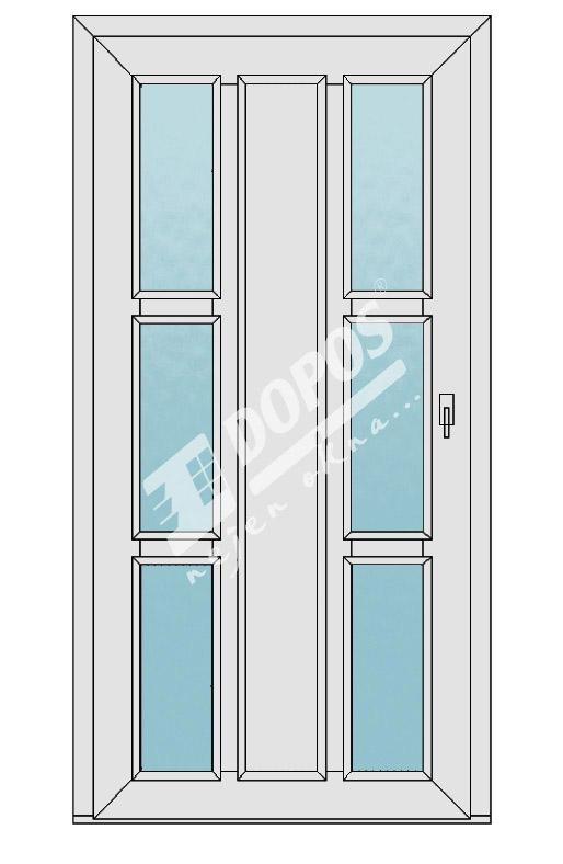 Vchodové dveře model 20