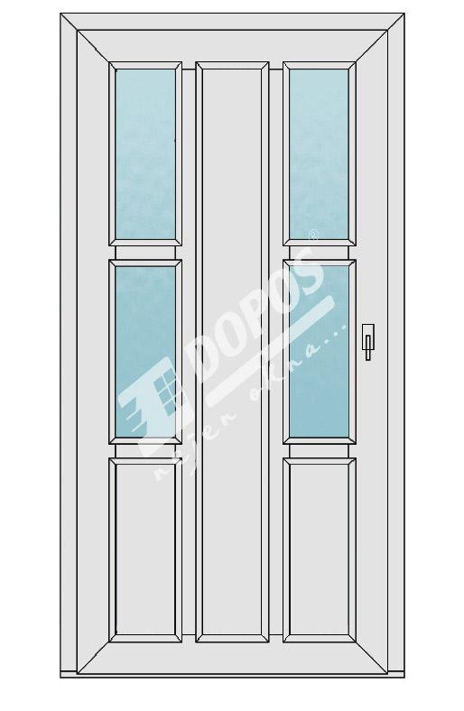 Vchodové dveře model 21
