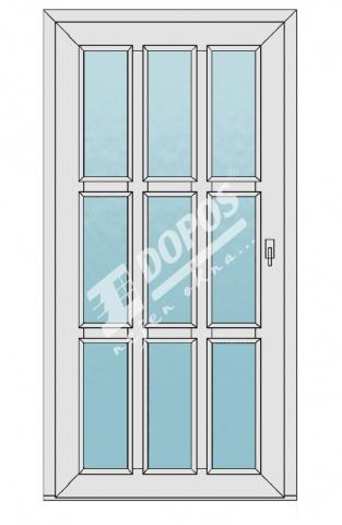 Vchodové dveře model 22