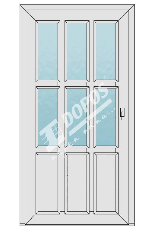 Vchodové dveře Dopos model 23