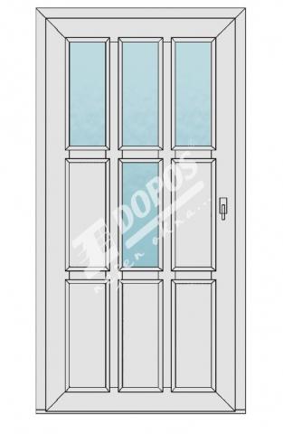 Vchodové dveře Dopos model 25