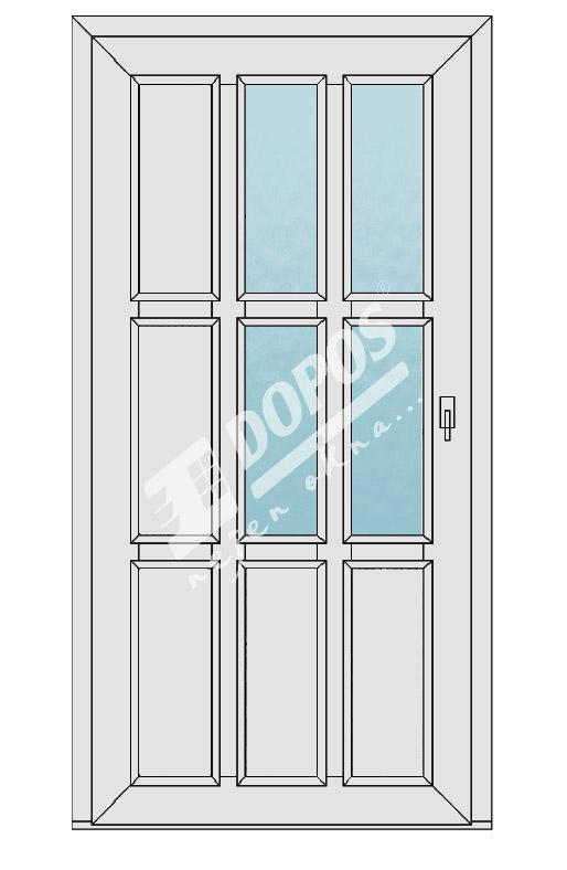 Vchodové dveře Dopos model 26