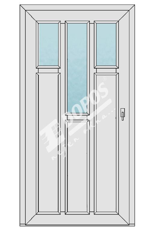Vchodové dveře Dopos model 28