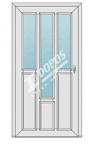 Vchodové dveře Dopos model 29