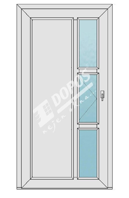 Vchodové dveře Dopos model 31