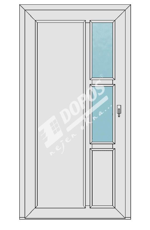 Vchodové dveře Dopos model 32