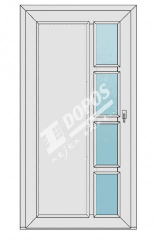 Vchodové dveře Dopos model 34