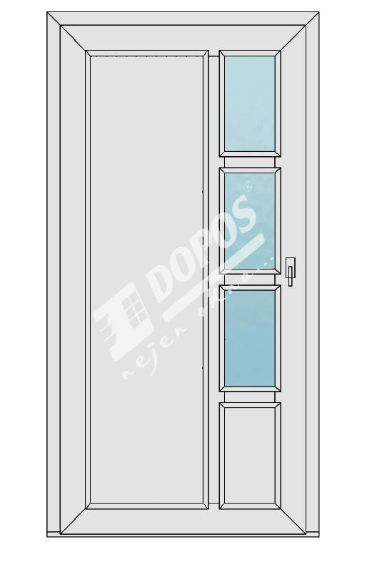 Vchodové dveře Dopos model 35