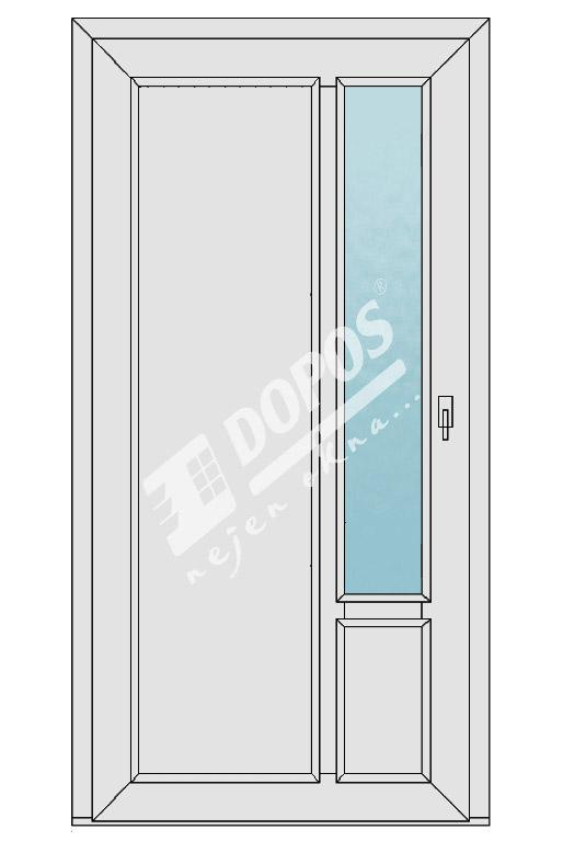 Vchodové dveře Dopos model 36