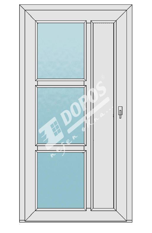 Vchodové dveře Dopos model 37