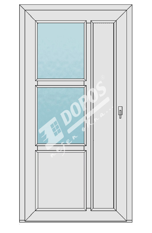 Vchodové dveře Dopos model 38