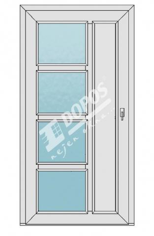 Vchodové dveře Dopos model 39