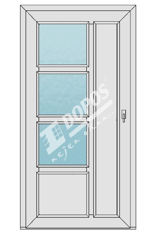 Vchodové dveře Dopos model 40