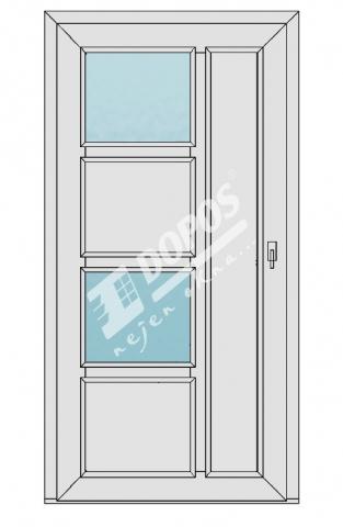 Vchodové dveře Dopos model 41
