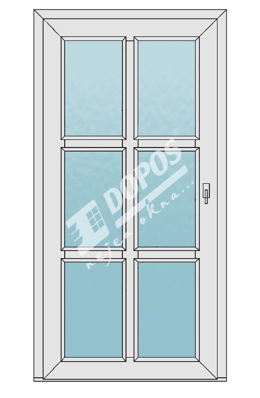 Vchodové dveře Dopos model 42