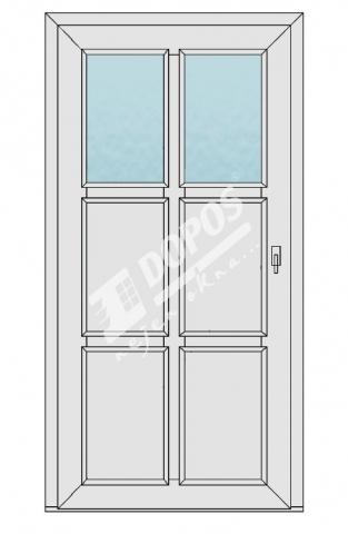 Vchodové dveře Dopos model 45