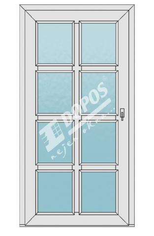 Vchodové dveře Dopos model 48