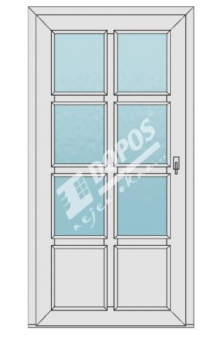 Vchodové dveře Dopos model 49