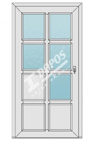Vchodové dveře Dopos model 50