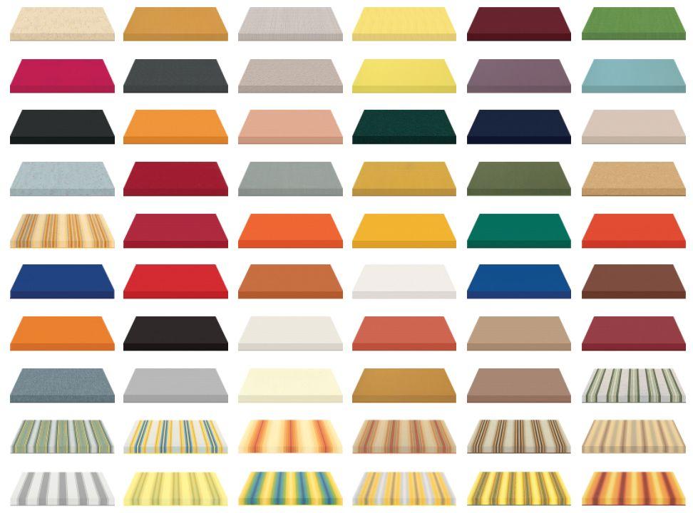 Vzorník barev markýz