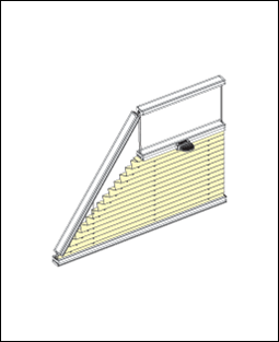 S těmito tvary plisé zastíníme klasická i velmi atypická okna
