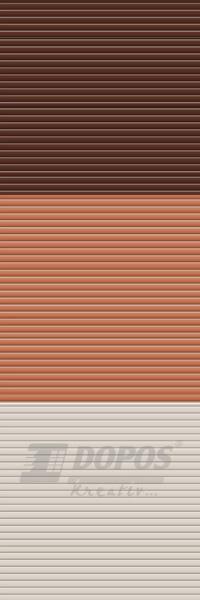 Žaluzie Kreativ: Typ b101, barvy 11092-2016-1012