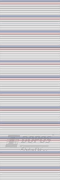 Žaluzie Kreativ: Typ b202, barvy 10058-10705-10707