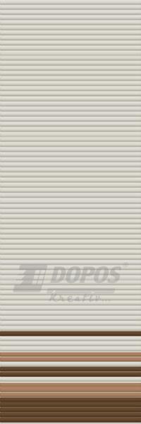 Žaluzie Kreativ: Typ b301, barvy 1012-287-11092