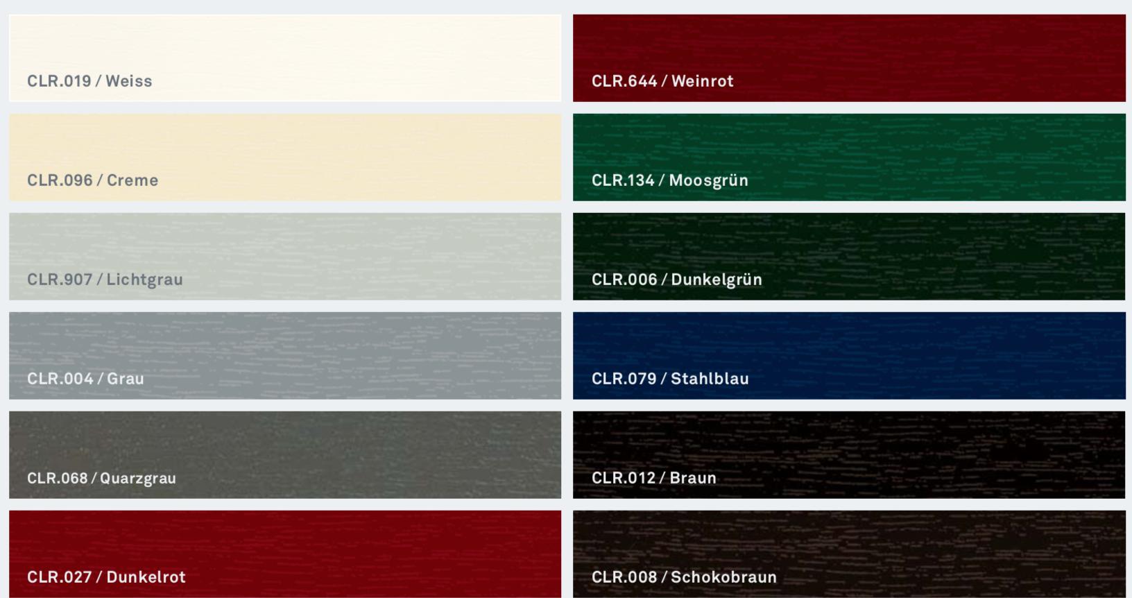 Barvy Inoutic: Nadčasové odstíny