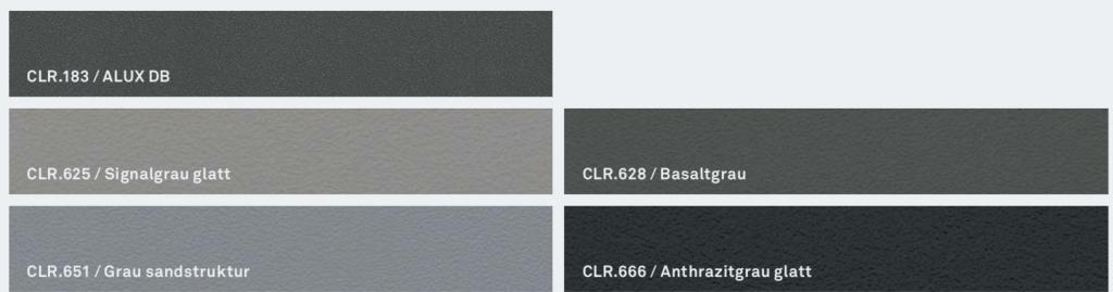 Barvy Inoutic: Trendy odstíny