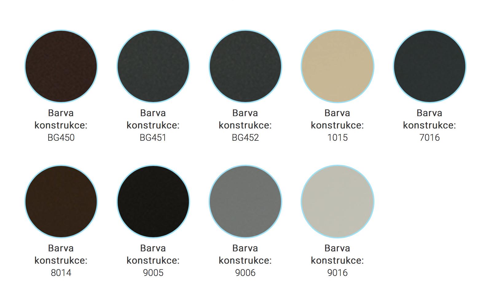 Barvy konstrukce Espacio