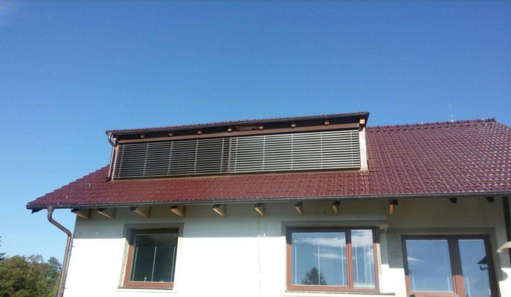 Venkovky Cetta instalujeme klidně i na střešní okna - Liberec, Jablonec nad Nisou, Nový Bor